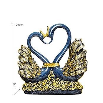Vitrine décoration décoration création maison maison personnage européen artisanat Chambre de télévision salon , Cygne d 'amour