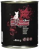 Catz finefood Katzenfutter Purrrr 103 Huhn, 6er Pack (6 x 800 g)