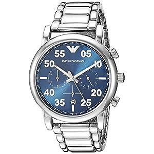 Emporio Armani Reloj Cronógrafo para Hombre de Cuarzo con Correa en Acero Inoxidable AR11132