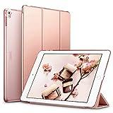 ESR Coque iPad Pro 9.7, Slim-Fit Smart Case Coque Housse Etui pour Apple iPad Pro 9.7 Pouces (Version 2016) Modèle de Support léger Ultra Slim avec Smart Cover Auto Réveil/Veille (Or Rose)