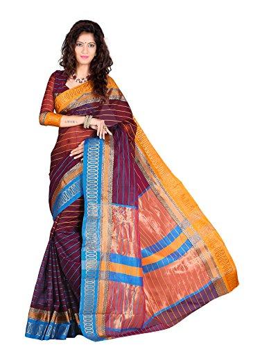 kunika sarees Women Cotton Saree (BAHUBALI-3_Multi Colour)  available at amazon for Rs.899