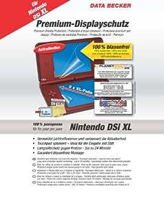 Nintendo DSi XL Schutzfolie 4er Set