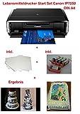 Lebensmittel Drucker Startset Tintenstrahldrucker Fotodrucker