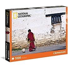 Clementoni 39355 - Puzzle National Geographic, Monaco, 1000 Pezzi, Multicolore