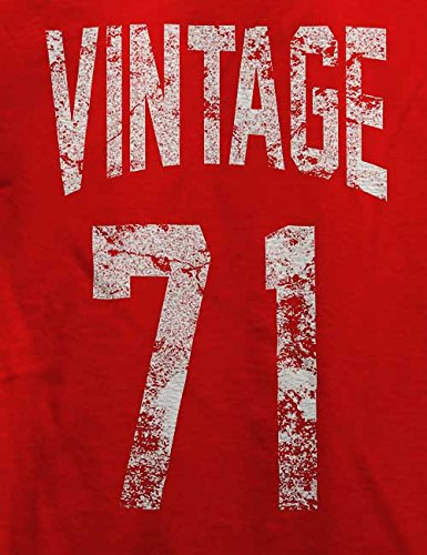 Vintage 1971 T-Shirt Rot