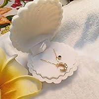 forviupet Bracelet Earring Necklace Ring Case Jewelry Box Storage Shell Shape