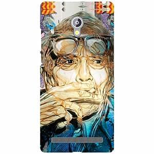 Asus Zenfone 6 A601CG Back cover - Be Quite Designer cases