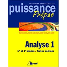 ANALYSE. Tome 1