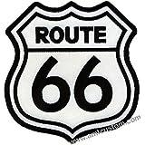 Patch Route 66 para chaquetas y chalecos