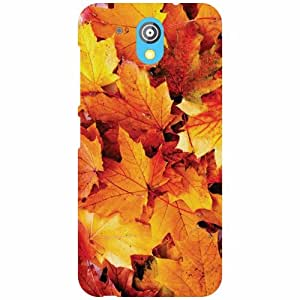 HTC Desire 526G Plus - Flower Matte Finish Phone Cover
