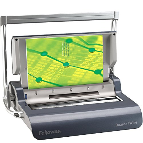 Deals For Fellowes Quasar Manual Wire Binder Special
