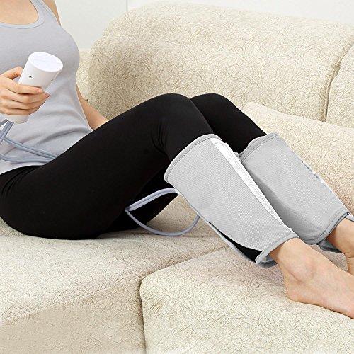amzdeal appareil de massage lectrique pour jambes avec adaptateur massager du jambe. Black Bedroom Furniture Sets. Home Design Ideas
