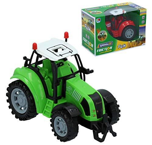 BC Footwear CB- Tractor Granja fricción 18x13 cm, (24866)