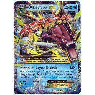 Carte Pokémon 27/122 MEGA M LEVIATOR EX HOLO 240 PV - Série XY RUPTURE TURBO XY9 - NEUVE FR ULTRA RARE