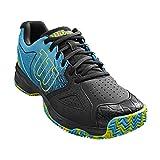 Wilson KAOS DEVO Clay Court, Zapatillas tenis hombre, ataque, tierra batida, tejido/sintético, azul...