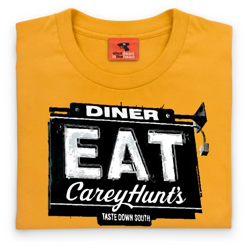 General Tee Carey Hunts T-Shirt, Herren Gelb