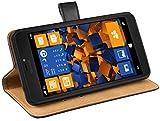 mumbi Housse en cuir étui portefeuille pour Microsoft Lumia 640 XL (import Allemagne)