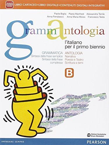 Grammantologia. Con Quaderno allenamento prove INVALSI. Ediz. mylab. Con e-book. Con espansione online. Per le Scuole superiori: 2