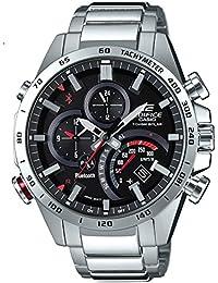 74389f4bac4e Casio Reloj Cronógrafo para Hombre de Energía Solar con Correa en Acero  Inoxidable EQB-501XD