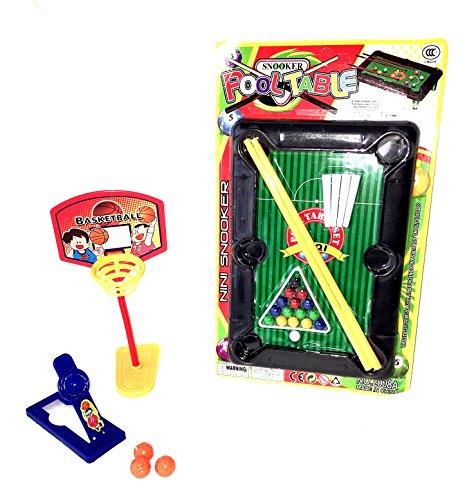 Büro Spiele Set Billard + Basketball Pausen Game