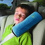 Yihya Baby Kinder Auto Car Gurtpolster Kissen Sicherheitsgurt Polster Autositz Gürtel Pillow Schulterschutz Reisekissen - Blau(Blue)