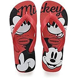 Havaianas Top Disney, Chanclas para Unisex Adulto, Multicolor (Ruby Red), 35/36 EU (33/34 Brazilian)