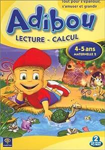 Adibou : Lecture - Calcul, 4-5 ans / Maternelle 2