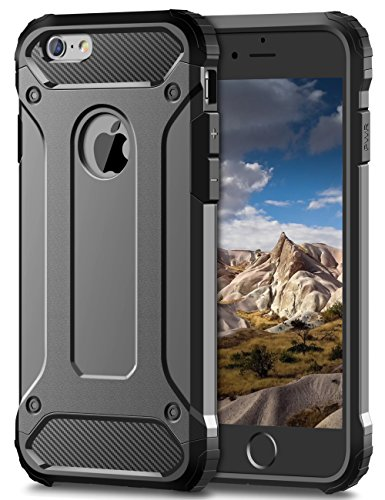 iPhone 6S Case, Coolden® Rugged Tough Dual Layer Armor Case iPhone 6...