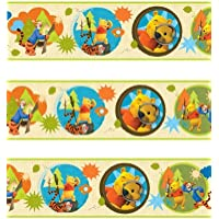 Winnie the Pooh 'My Friends Tigger & Pooh' Self Adhesive Wallpaper Border 5M
