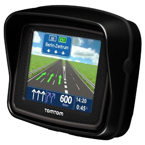 Bild 11: TomTom Urban Rider Central Europe Motorrad-Navigationssystem (8,9 cm (3,5 Zoll) Display, IQ Routes, Fahrspurassistent) mattschwarz