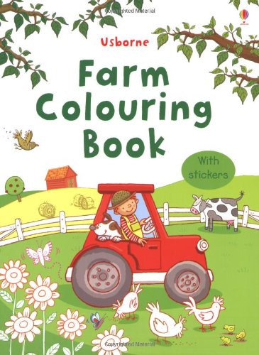 Farm Colouring Book with Stickers (Sticker Colouring Book)