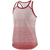Wilson Girls' G Team Striped Tennis Tank Top