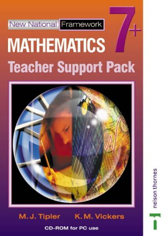 New National Framework Mathematics 7+ Teacher CD-ROM: 7 Plus
