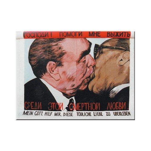 Nostalgic-Art 14017 CityStyle Bruderkuss imán Berlin, 8 x 6 cm
