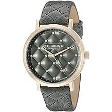 Stuhrling Original Audrey - Reloj de Cuarzo, para Mujer, con Correa de Cuero,