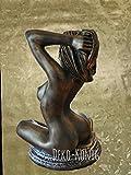 Wunderschöne Madame Tussauds London Frau Büste Figur AKT Figuren 6098 K110 Figuren der Antike Style Medusa Figuren der Antike mit Styl Gartenfigur TOP ANGEBOT ( ALLWETTER FEST )
