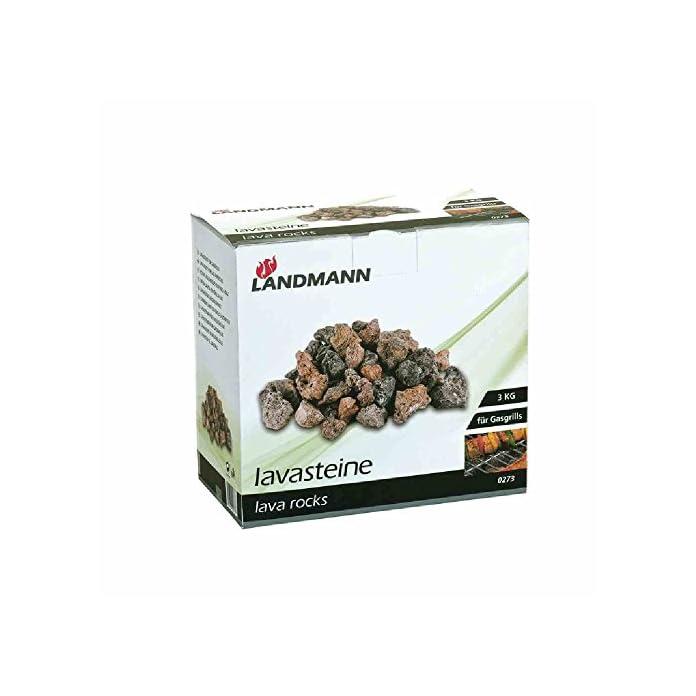 Landmann Lavasteine Schwarz 3 Kg
