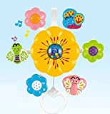 #7: Emob Flower Shaped Musical Crib Rotating Hanging Toy For Infants with Incredible Finishing
