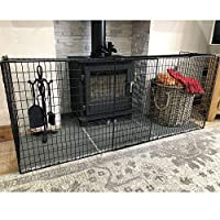 FYLO - Extendable Fireguard Folding Safety Guard Folding Fireplace Cover