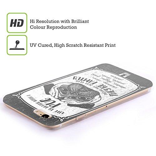 Head Case Designs Chihuahua Races De Chien Dessinées À La Main Étui Coque en Gel molle pour Apple iPhone 5 / 5s / SE Carlin