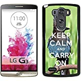 Print Motif Coque de protection Case Cover // Q01014393 keep calm and carry on 682 // LG G3 VS985