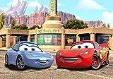 AG Design FTD 0246  Disney Cars, Papier Fototapete - 360x254 cm - 4 teile, Papier, multicolor, 0,1 x 360 x 254 cm