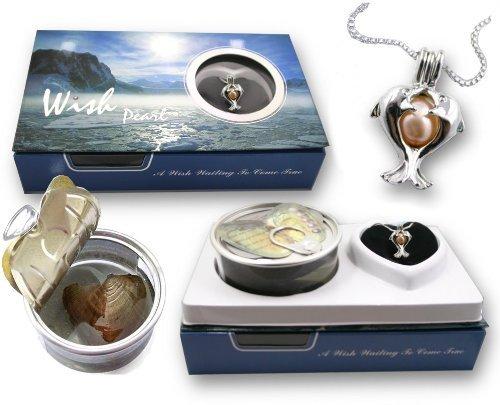 CoolRings Halskette mit Delfin-Anhänger rhodiniert Süßwasser-Zuchtperle 5-7 mm -