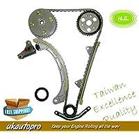 HJL Kit de cadena de sincronización para Perodua Myvia Kembara 1.3 DVVT K3-VE con