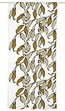 Vallila Tiaiset, Vogel, Tier Muster, Vorhang 140x250 cm, Braun, Baumwoll-Mischgewebe, Brown, 250 x 140 cm
