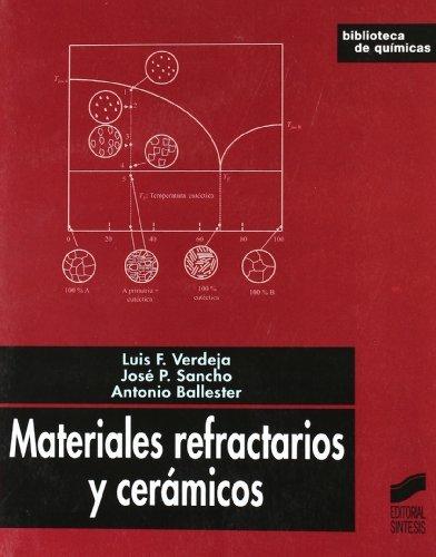 Materiales refractarios y cerámicos (Biblioteca de químicas nº 24) por Luis Felipe Verdeja