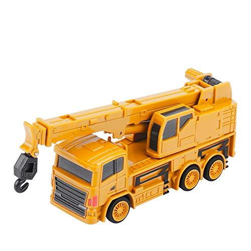 RC Auto kaufen Baufahrzeug Bild 2: Alomejor RC Bauwagen, Mini DIY Baufahrzeug RC Bagger Truck Bagger Kits Baustein Spielzeug(Kran)*