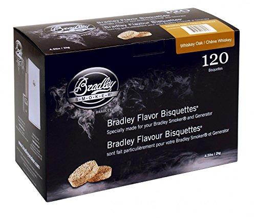 Bradley Smoker Whiskey Oak/Eiche Bisquetten 120er Pack -