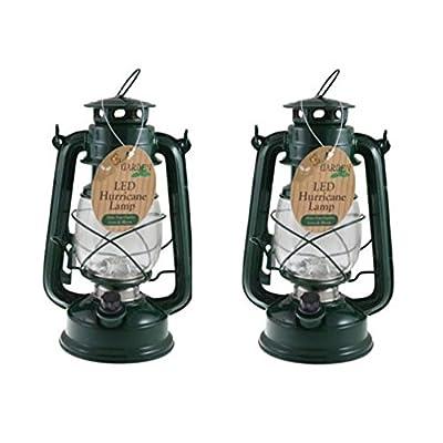 Ardisle 2x15 Led Hurricane Storm Lantern Dimmer Switch Camping Tent Light Fishing Lamp Torch from Ardisle