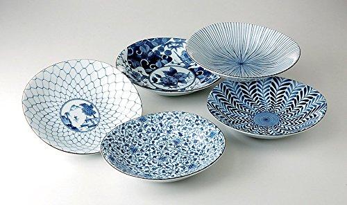 Japanisches Teller-Set TAYOZARA 5er Set